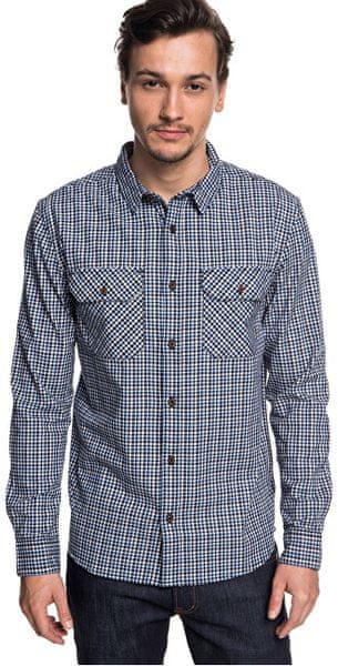 Quiksilver Pánská košile Fuji View Black Fuji View EQYWT03719-KVJ1 (Velikost S)