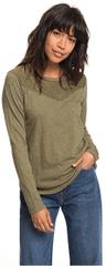 ROXY Dámske tričko Blossom Day Burnt Olive ERJKT03460-GPZ0