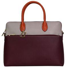 Bulaggi Dámská kabelka Abby laptopbag 30639 Burgundy