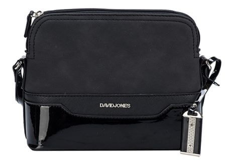David Jones Dámská crossbody kabelka Black 5808-1