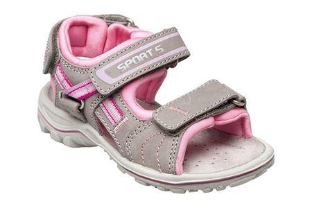 SANTÉ Zdravotní obuv dětská OR/25302 šedo-růžová (Velikost vel. 35)