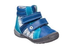 656b08c16c3 SANTÉ Zdravotní obuv dětská N LONDON 202 C84 C87 modrá (vel