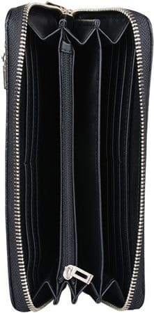 Guess Dámska peňaženka Guess Rayna Logo -Embossed Zip-Around Wall et ... fa4f9c12c07
