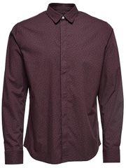 ONLY&SONS Pánská košile Otto Ls Ditsy Aop Shirt Fudge