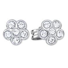 Brilio Silver Stříbrné kytičkové náušnice 438 001 01258 04 - 0,76 g stříbro 925/1000