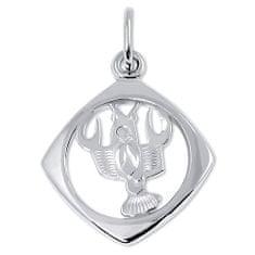 Brilio Silver Ezüst horoszkóp medál Rák 441 001 00872 04 - 1.13 g ezüst 925/1000