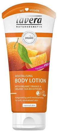 Lavera Tělo vé mlieko BIO pomaranč & BIO rakytník (Revitalising Body Lotion) 200 ml