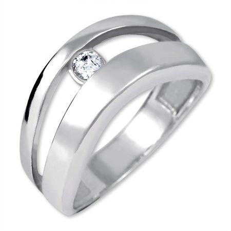 Brilio Silver Originální stříbrný prsten 426 001 00440 04 - 2,95 g (Obvod 50 mm) stříbro 925/1000