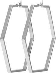 Hexagonové náušnice CLJ52003