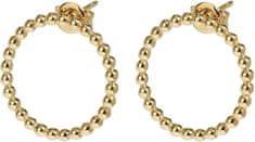 Aranyozott ezüst fülbevaló CLJ51007 ezüst 925/1000