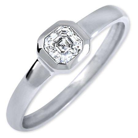 Brilio Silver Strieborný zásnubný prsteň 426 001 00509 04 - 1,27 g (Obvod 51 mm) striebro 925/1000
