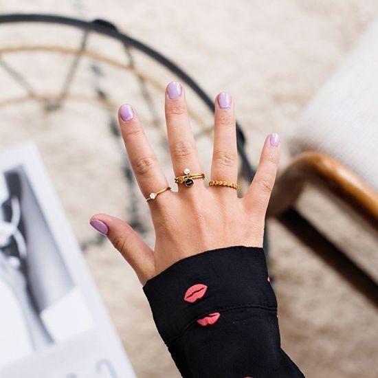 Cluse Pozlátený prsteň CLJ41006