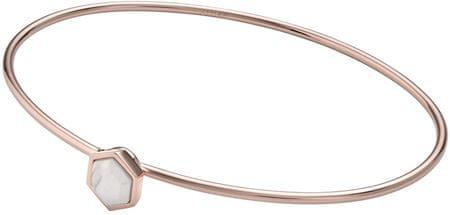 Pevný bronzový náramek CLJ10002