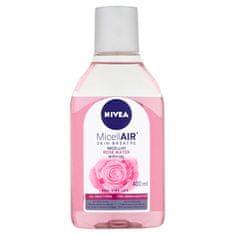 Nivea Dvoufázová micelární voda s růžovou vodou (Micellar Rose Water) 400 ml