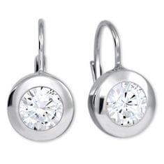 Brilio Silver Stříbrné náušnice s krystaly 436 001 00403 04 - 2,30 g stříbro 925/1000