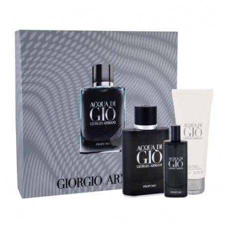 Giorgio Armani Acqua di Gio Profumo - EDP 75 ml + EDP 15 ml + sprchový gel 75 ml