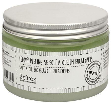 Sefiros sól zarośla ciała i olejek eukaliptusowy (olej Salt & Bodyscrub) 300 ml