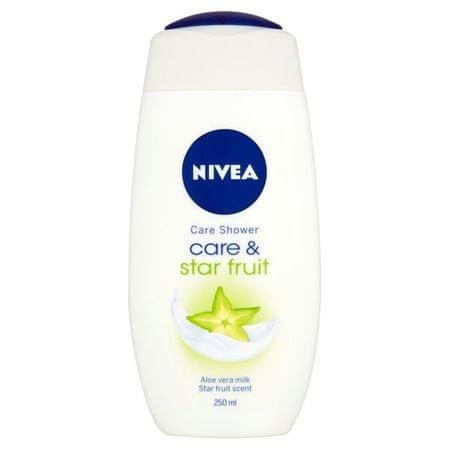 Nivea Żel pod prysznic pielęgnacja i Starfruit 250 ml