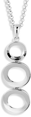Modesi Elegantní náhrdelník ze stříbra M45015 stříbro 925/1000