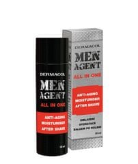 Dermacol Odmładzający krem żel po goleniu balsam Men Agent (Anti-Aging Moisturiser After Shave) 50 ml