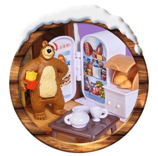 Simba Máša a medvěd Zimní dům