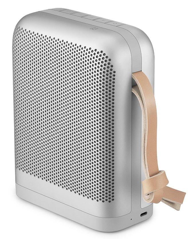 Bang & Olufsen Beoplay Speaker P6 přenosný reproduktor, stříbrná