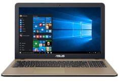 Asus prenosnik X540MB-DM046 N5000/4GB/SSD256GB/MX110/15,6FHD/EndOS (90NB0IQ1-M00890)