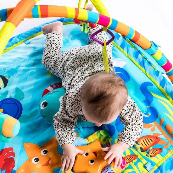 Baby Einstein Deka na hraní Baby Neptune Nautical Friends Play Gym