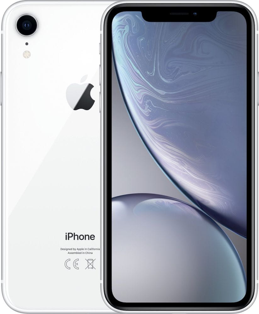 Apple iPhone Xr, 128GB, Bílý