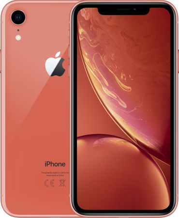 Apple iPhone Xr, 64GB, Korálovo červený