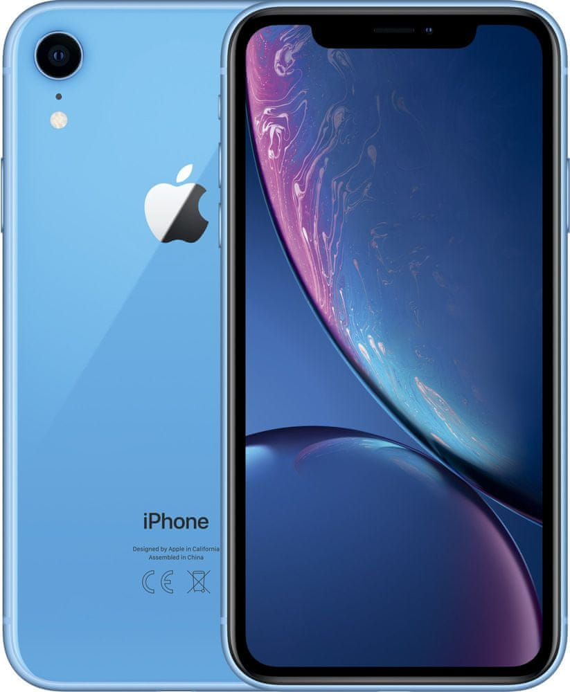 Apple iPhone Xr, 128GB, Modrý