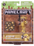 2 - TM Toys Minecraft - sběratelská figurka Steve ve zlaté zbroji