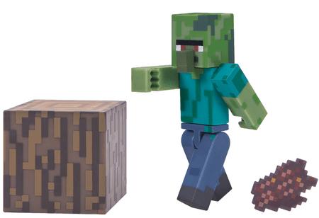 TM Toys Minecraft - sběratelská figurka Zombie villager