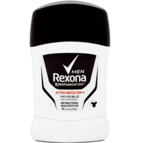 Rexona Tuhý antiperspirant pro muže 48H Active Protection+ Invisible 50 ml