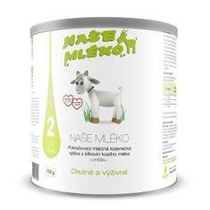 Naše mléko 2 (6-12 m) 750 g