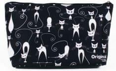 Albi Cestovní kosmetická taška s kočkami