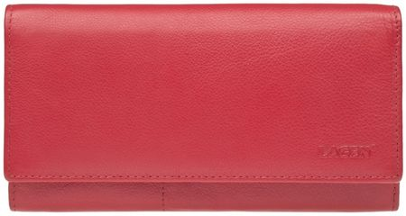 Lagen Dámska kožená peňaženka Red W-102/L