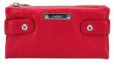 Lagen Női bőr pénztárca Red 958