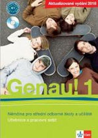 Genau! 1 2018 (A1) – učebnice s pracovním sešitem + CD + Beruf