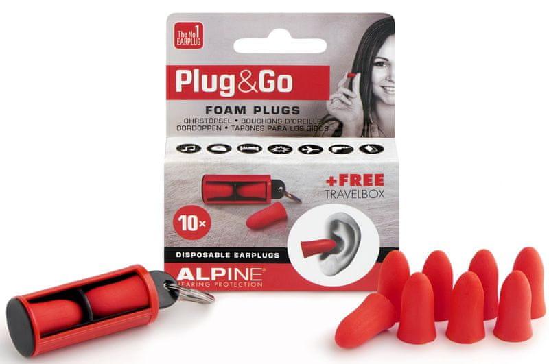 Alpine Plug&Go Špunty do uší