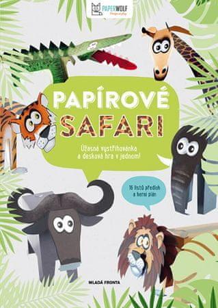 Papírové safari - 16 listů předloh a herní plán