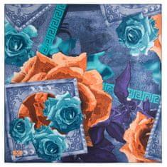 VERSACE 19.69 dámský modrý šátek