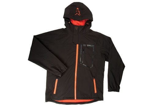 Fox Bunda Softshell Jacket Black/Orange XL