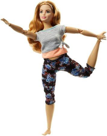 Mattel lutka Barbie v gibanju, oranžna