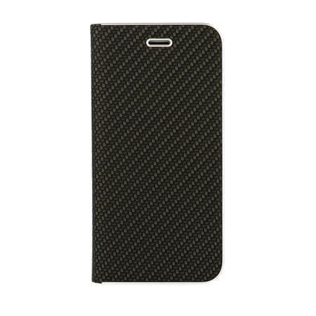 Havana Premium preklopna torbica za Samsung Galaxy A6 2018, carbon črna