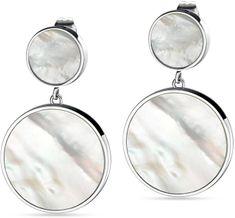 Morellato Stříbrné visací náušnice s perletí Perfetta SALX07 stříbro 925/1000