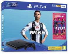 Sony igralna konzola PlayStation 4 Slim 1 TB + igra FIFA 19