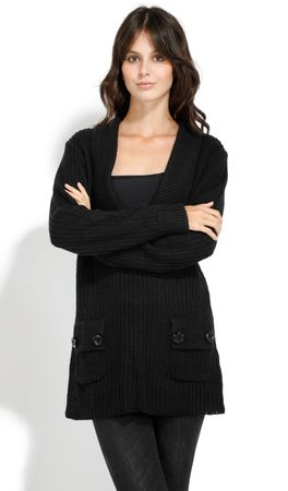 William de Faye ženski pulover, S, črn