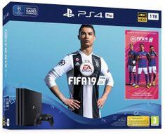 Sony igralna konzola PlayStation 4 Pro 1 TB + igra FIFA 19