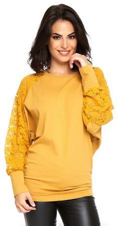 ANOUSHKA női póló Vanessa M sárga